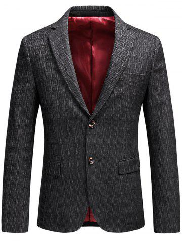 Online Lapel Collar Single Breasted Business Blazer