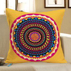 Bohemia Printed Linen Pillow Case - COLORFUL W18 INCH * L18 INCH