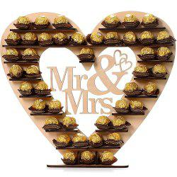DIY Wedding Wooden Chocolate Display Stand - COMPLEXION