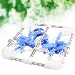 Clothes Socks Household Hanging Dryer with 16 Clips -