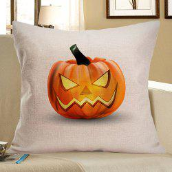Halloween Pumpkin Patterned Pillow Case - EARTHY W18 INCH * L18 INCH