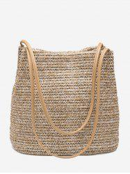 Bucket Straws Shoulder Bag -