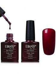 Waterproof Red Kit Shellac Gel Nail Polish - #14