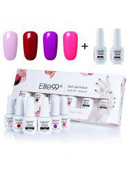 Elite99 6Pcs Polish LED Soak Off Gel Nail Set -