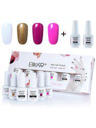 Elite99 6Pcs Laque UV LED Soak Off Gel Ensemble de vernis à ongles -