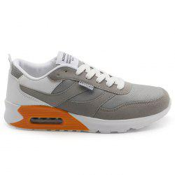 Lightweight Breathable Mesh Jogging Sports Sneakers - GRAY 43