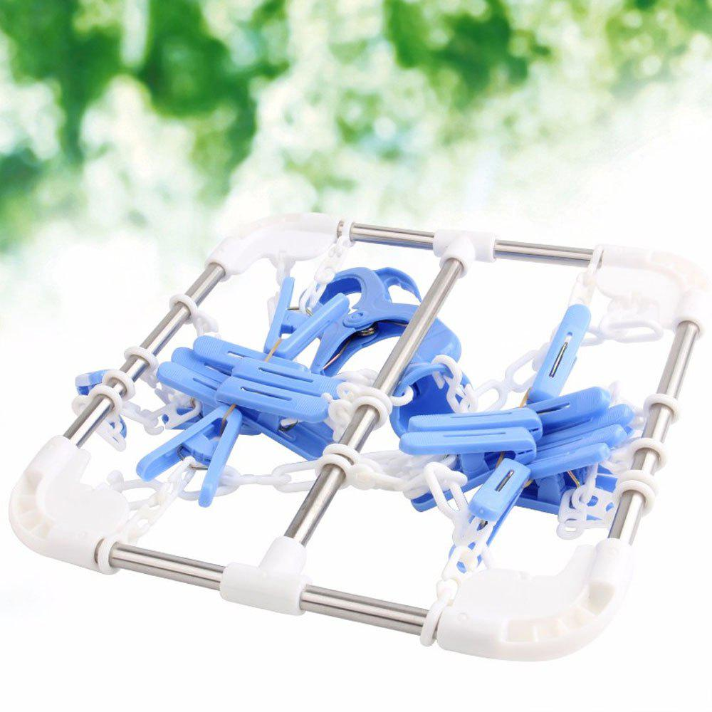 Shops Clothes Socks Household Hanging Dryer with 16 Clips