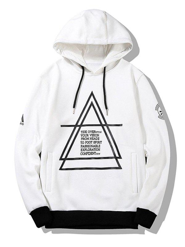 Image of Graphic Flocking Graphic Hoodie