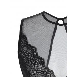See Through Backless Babydoll -