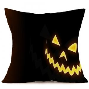 Halloween Pattern Linen Pillow Case -