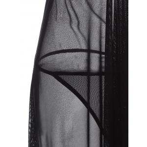 Backless See Through Babydoll -