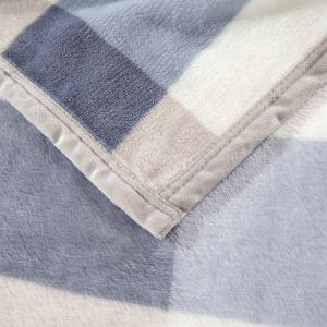 Bedroom Product Plaid Soft Throw Blanket - CHECKED EURO KING