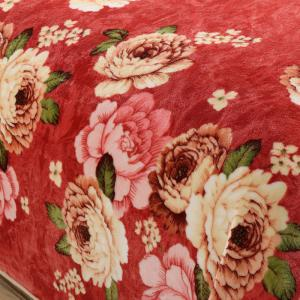 Peony Bedroom Soft Floral Blanket - Anko- rouge Euro Roi