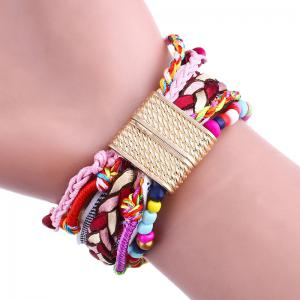 Bohemian Beaded Braided Bracelet Watch -