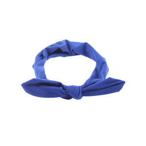 Bows Multiuse Colored Elastic Hair Band - BLUE
