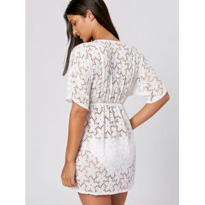 Lace Beach Cover Up Dress -