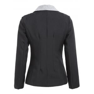 One Button Blazer -