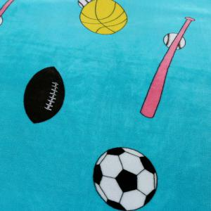 Sport Football Print Soft Throw Blanket -
