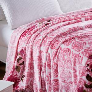 Blooming Rose Soft Bedroom Blanket -