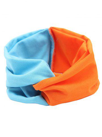 Outfits Multi Use Elastic Hair Band BLUE AND ORANGE