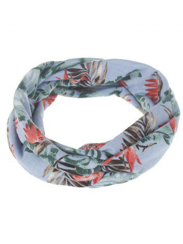 Shops Leaf Print Multiuse Elastic Hair Band - #01  Mobile