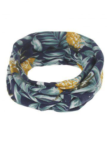 Sale Leaf Print Multiuse Elastic Hair Band