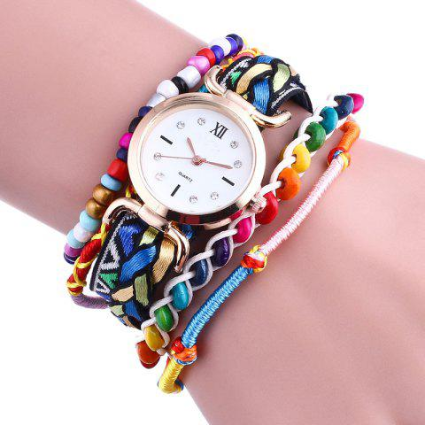 Shops Bohemian Beaded Braided Bracelet Watch