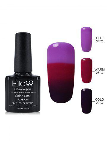 New Elite99 Chameleon Temperature Color Changing Gel Nail Polish 10ML - #25  Mobile