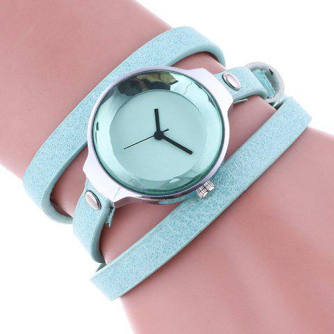 Shops Layered Analog Wrap Bracelet Watch