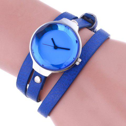 Sale Layered Analog Wrap Bracelet Watch