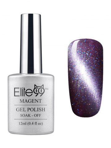 Chic Elite99 3D Soak Off UV LED Purple Series Magnetic Cat Eye Gel Nail Polish