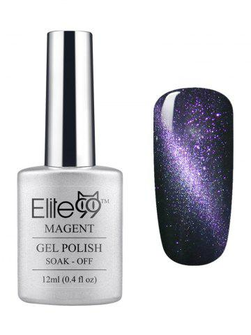 Outfits Elite99 3D Soak Off UV LED Purple Series Magnetic Cat Eye Gel Nail Polish