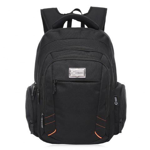 Outfit Top Handle Multifunctional Laptop Backpack BLACK VERTICAL