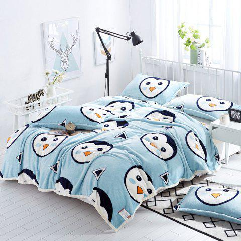 Shop Penguin Pattern Soft Throw Blanket