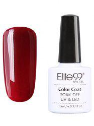 Elite99 UV LED Vernis à Ongle Gel Faire Tremper Série Rouge 10 ml -