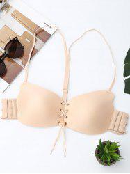 Full Coverage Lace Up Bra -