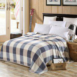 Bedroom Product Plaid Soft Throw Blanket -