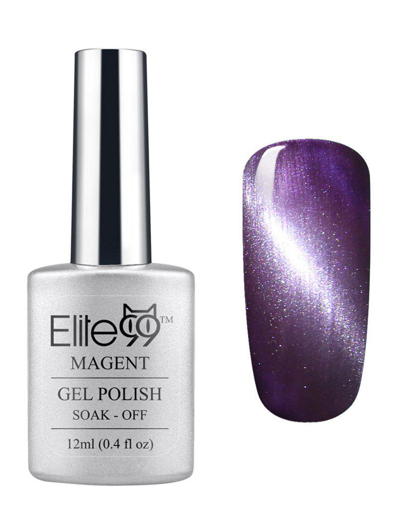 Shops Elite99 3D Soak Off UV LED Purple Series Magnetic Cat Eye Gel Nail Polish