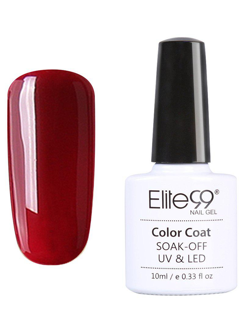 Elite99 UV LED Vernis à Ongle Gel Faire Tremper Série Rouge 10 ml