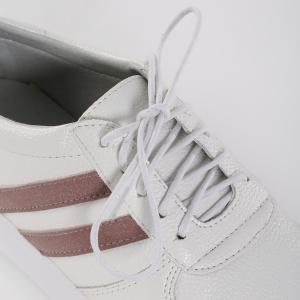 Breathable Sports Two-stripe Skate Shoes - PINK 39