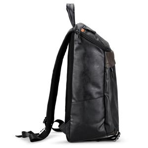 Sac à dos pour ordinateur portable Pocket Faux Leather -