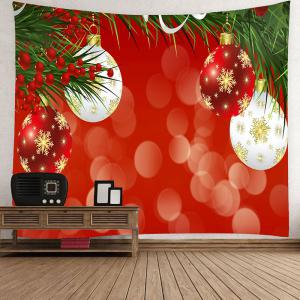 Wall Art Snowflake Christmas Balloons Waterproof Hanging Tapestry -