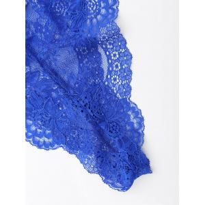 Lace Sheer Lingerie Teddy -