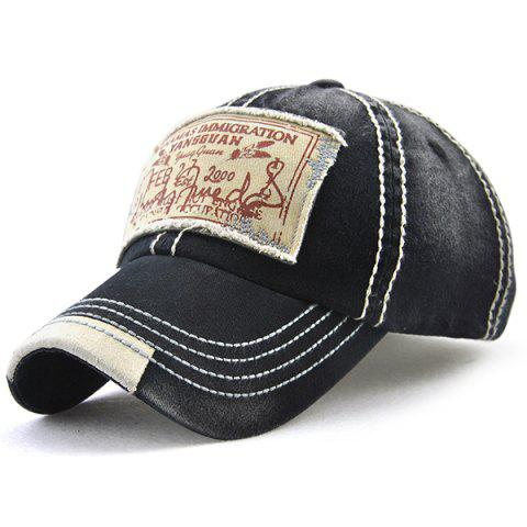 Bahamas Handwritten Letters Applique Baseball Hat
