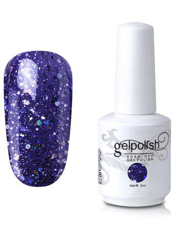 New Elite99 Full Sequins Gel Polish Soak Off UV LED Nail Art Lacquer #01