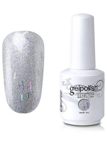 Sale Elite99 Soak-Off UV LED Gel Polish Glitter Nail Art - SILVER  Mobile