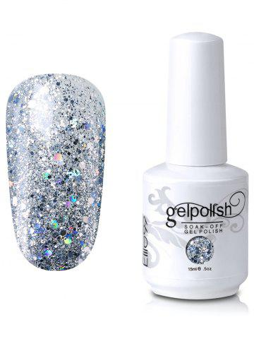 Chic Elite99 Full Sequins Gel Polish Soak Off UV LED Nail Art Lacquer - #03  Mobile