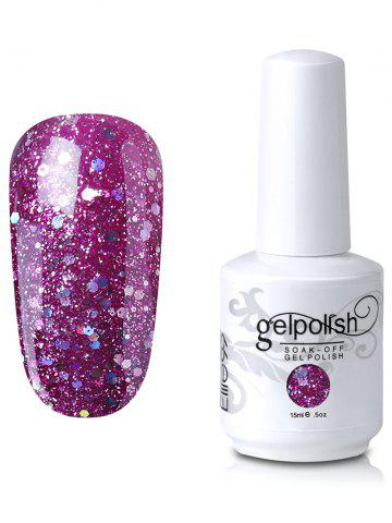 Best Elite99 Full Sequins Gel Polish Soak Off UV LED Nail Art Lacquer #05