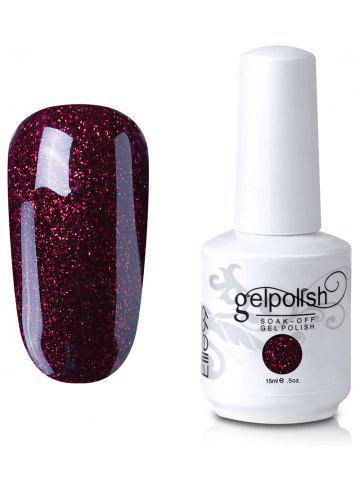 Unique Elite99 Soak Off UV LED Multi-color Gel Polish Nail Art Glitter Clear 15ml #06