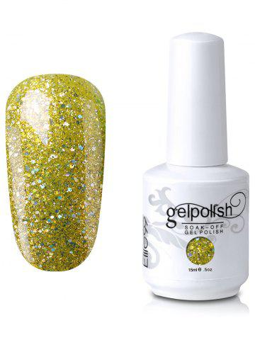 Sale Elite99 Full Sequins Gel Polish Soak Off UV LED Nail Art Lacquer